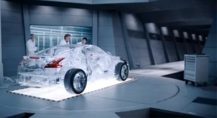 Transparent Nissan 370z
