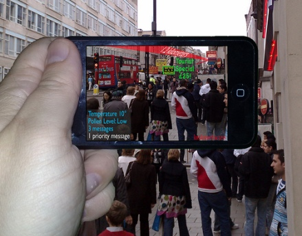 Augmented reality on the iPhone