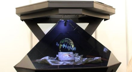 HoloAD 3D hologram