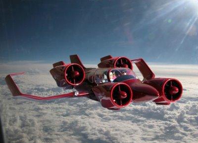 Latest design of the Moller Skycar M400