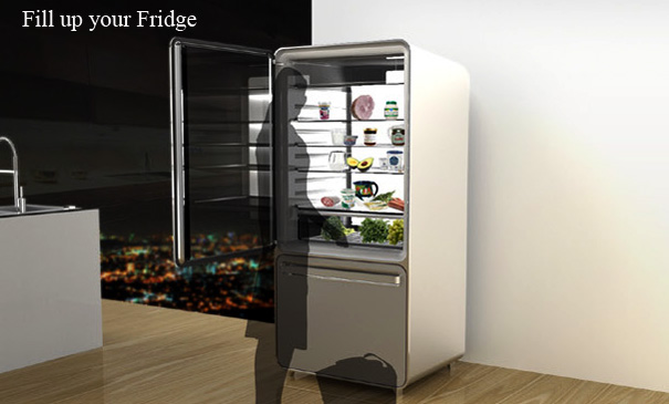 Filling up your Smart Fridge