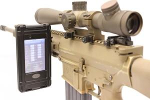 iPod mounted gun