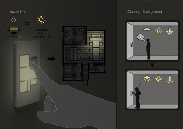 A lightswitch that controls your entire floor techocular an insight into technology - Floor plan light switch ...