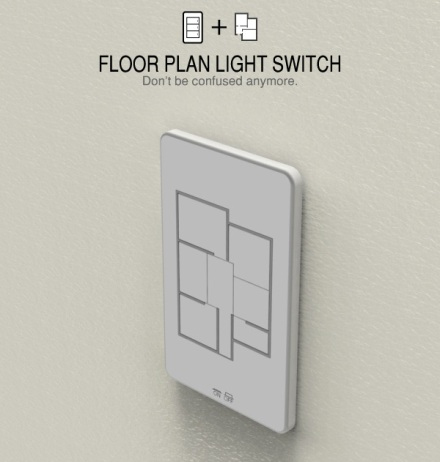 Floor Plan Light Switch Design